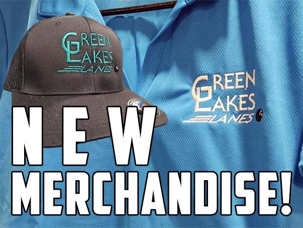 Green Lakes Lanes New Merchandise